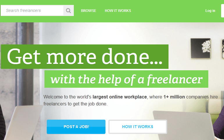 top 10 freelance websites for web designer