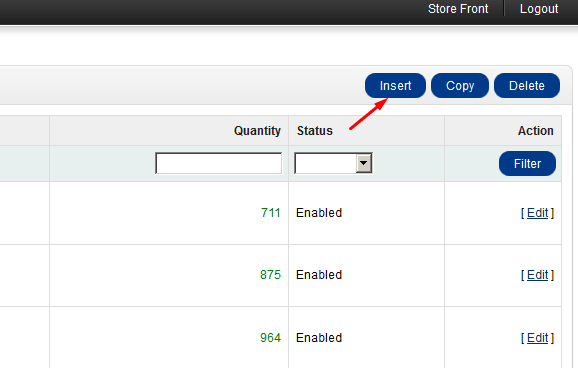 add products in opencart